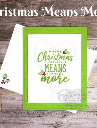 Christmas Means More Heart Card
