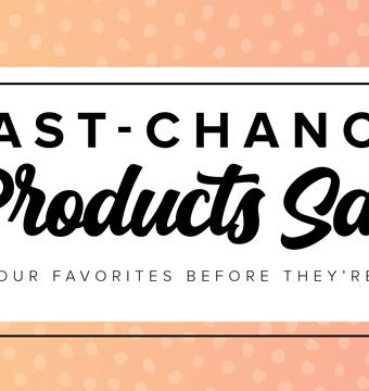 Last Chance Products Sale Banner